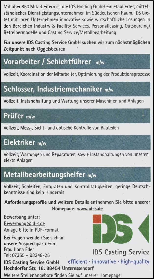 Elektriker/in