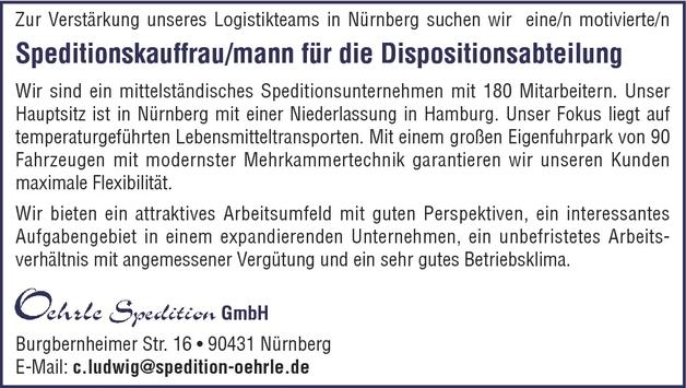 Speditionskaufmann/-frau