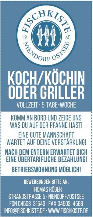 Griller/in