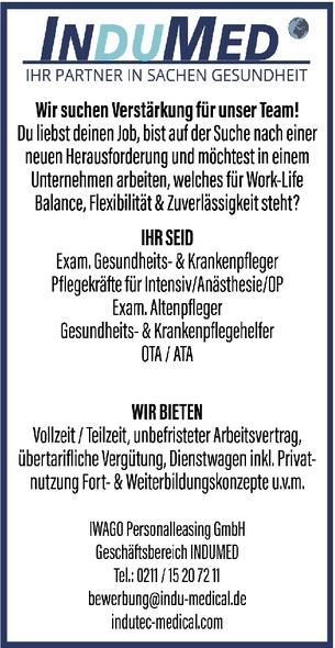 ATA (Anästhesietechnische/r Assistent/in)