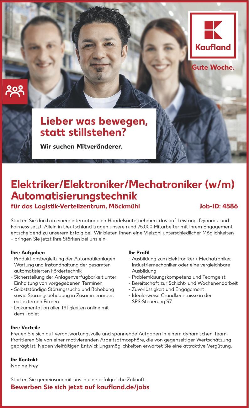 elektrikerin in mckmhl - Kaufland Online Bewerbung