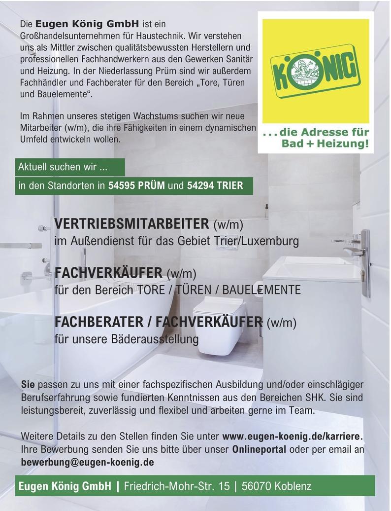 Vertriebsmitarbeiterin In Trier