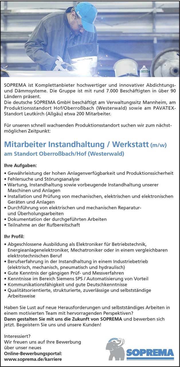 Elektronikerin Betriebstechnik In Hof