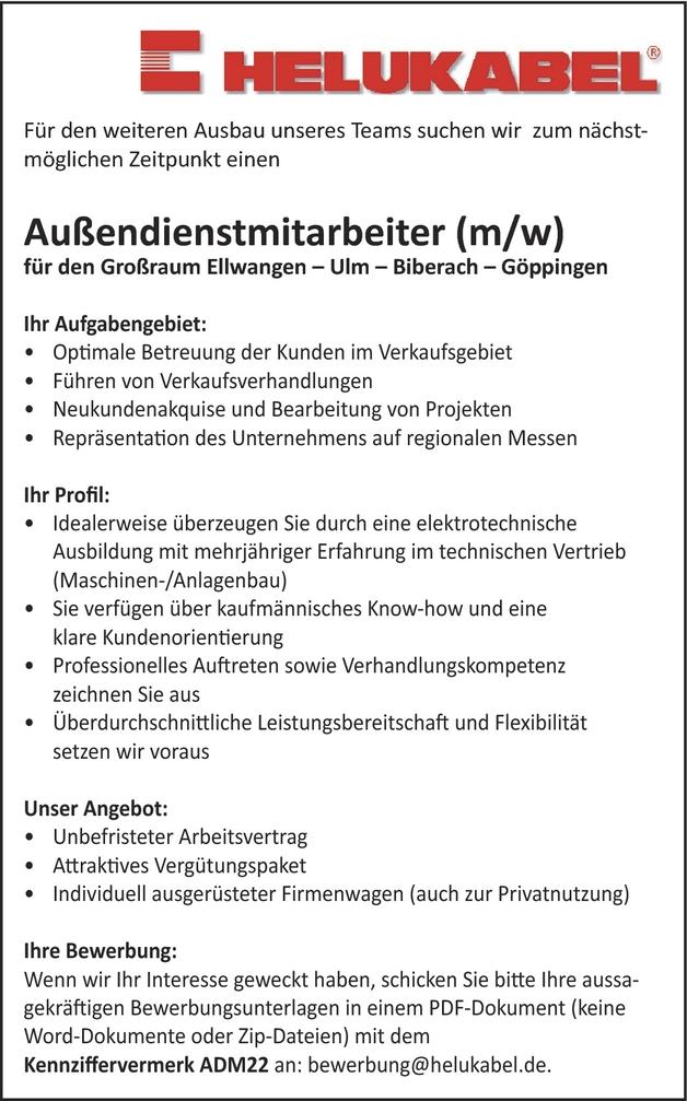 Außendienstmitarbeiterin In Hemmingen