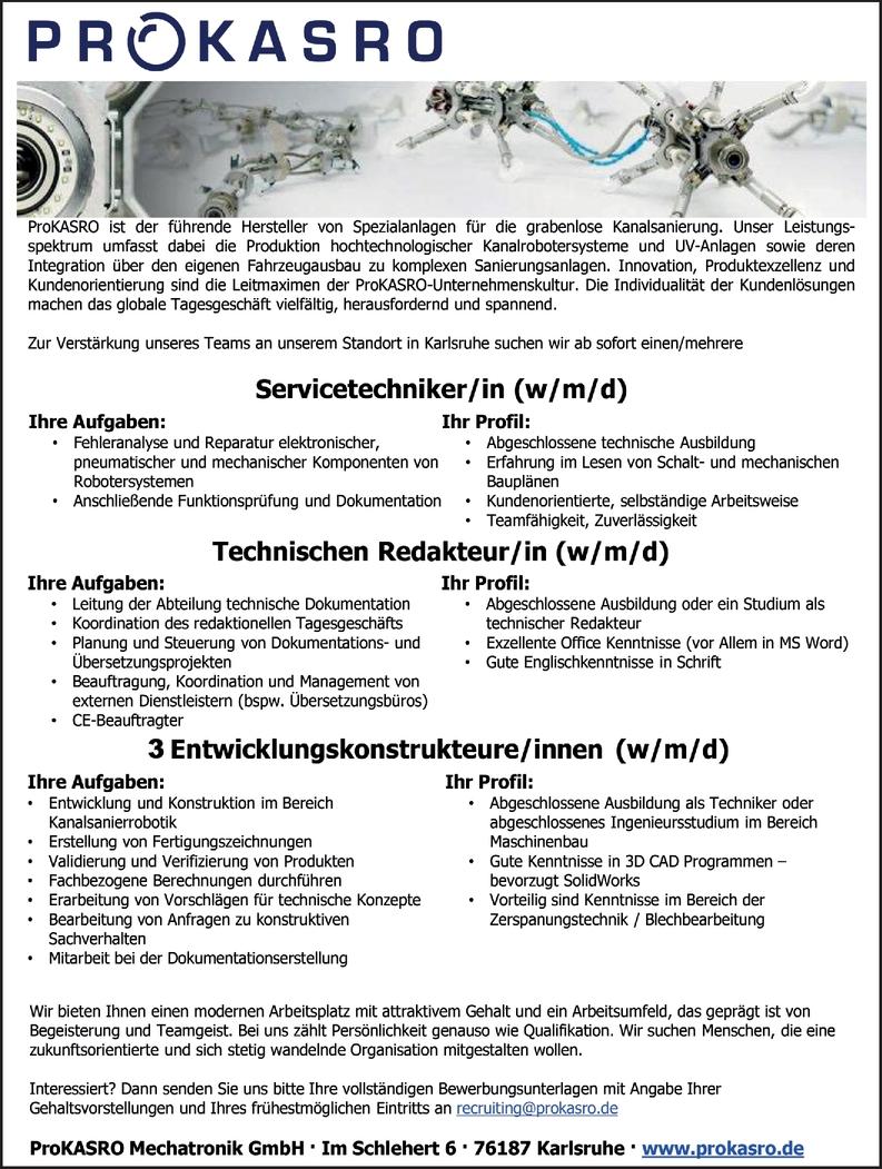 Technische/r Redakteur/in
