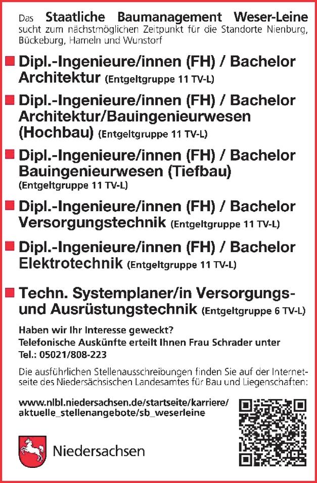 Ingenieur/in - Elektrotechnik (allgemeine Elektrotechnik)