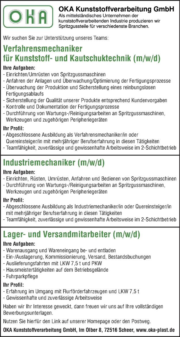 Industriemechaniker/in
