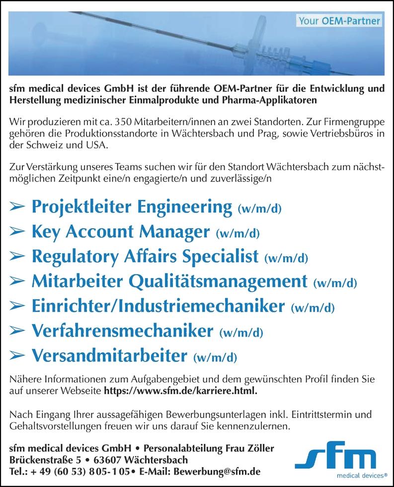 Industriemechaniker (w/m/d)