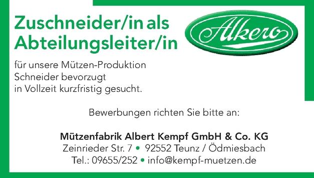 Schneider/in