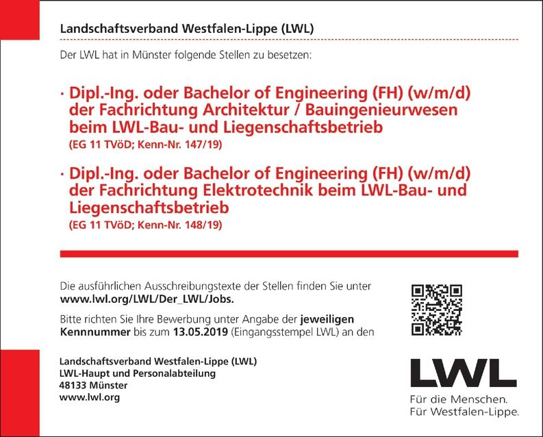Dipl.-Ing. oder Bachelor of Engineering (FH) (w/m/d) der Fachrichtung Architektur / Bauingenieurwesen