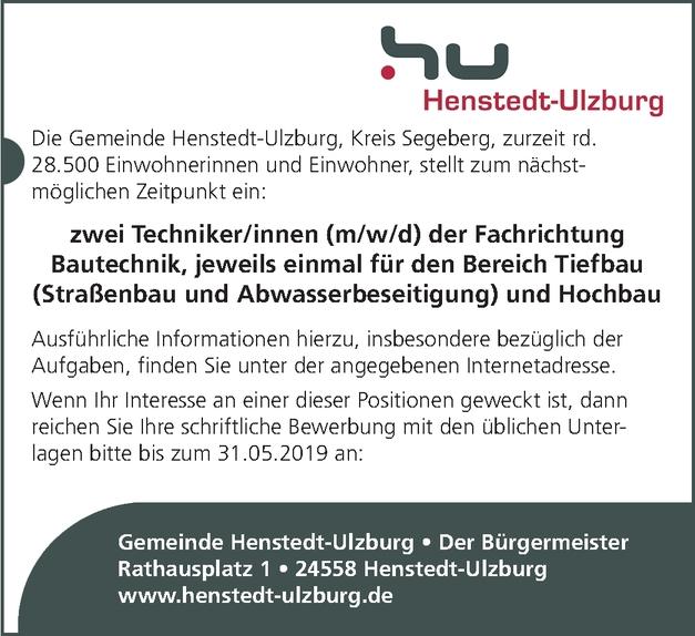 Techniker/in - Bautechnik (Ausbau)