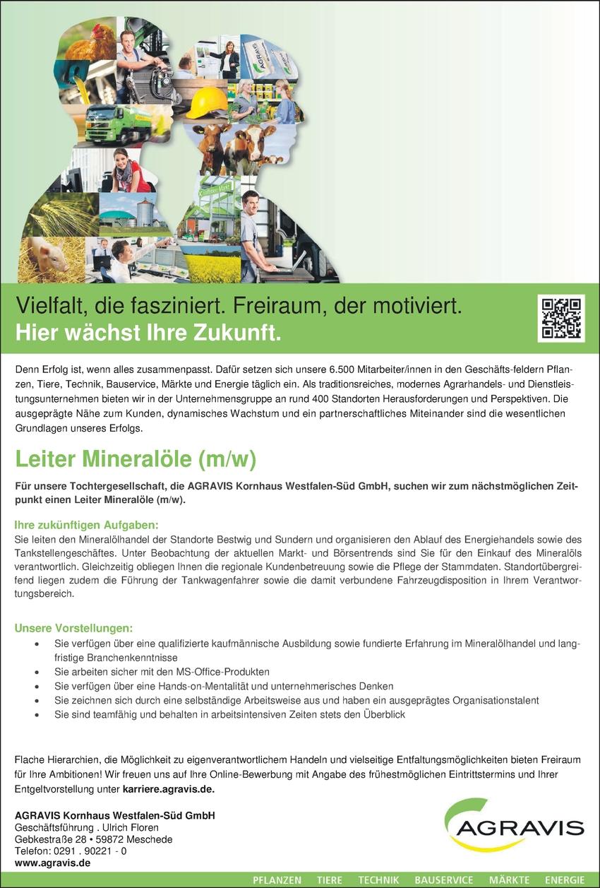Kaufmann Mineral Ölhandel (m/w/d)