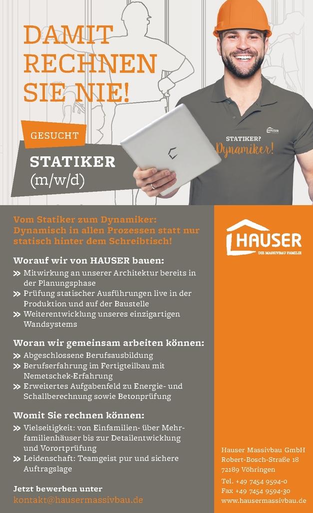 Statiker/in