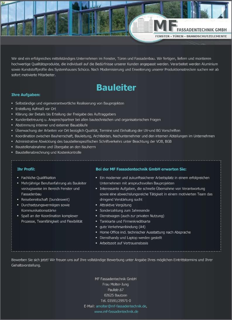 Ingenieur/in - Architektur