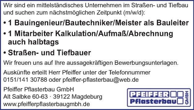 Straßenbauer/in