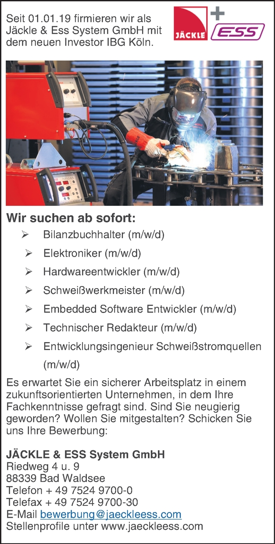 Embedded Software-Entwickler (m/w/d)