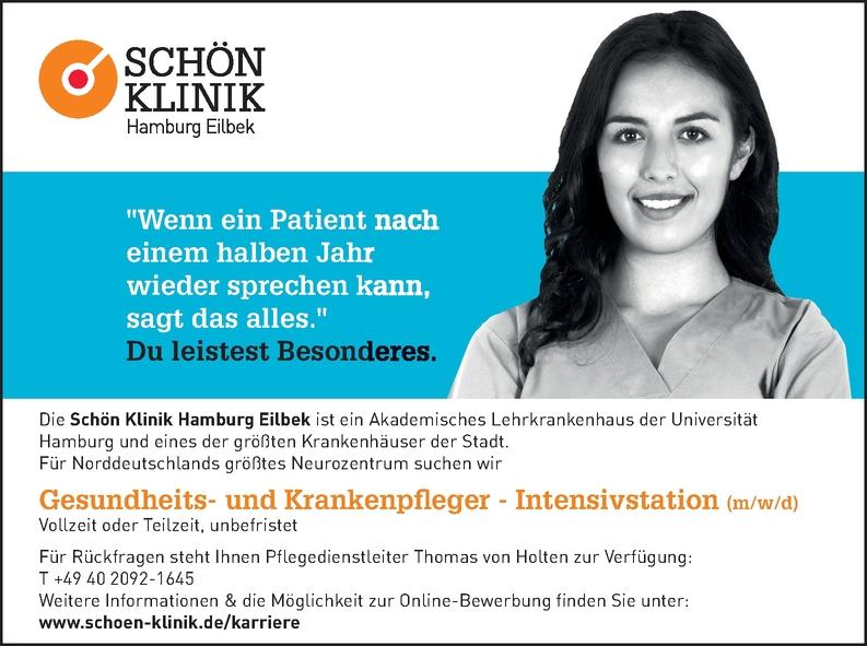 Gesundheits - und Krankenpfleger - Intensivstation ( m/w/d)