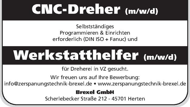 Dreher (m/w/d)