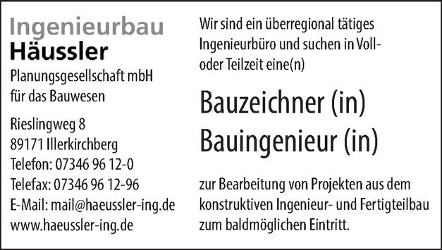 Bauzeichner ( m/w/d)