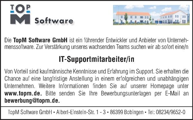 IT-Supportmitarbeiter