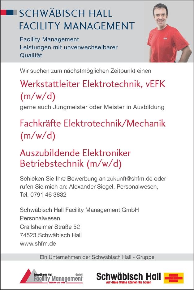 Elektroniker Betriebstechnik (m/w/d)