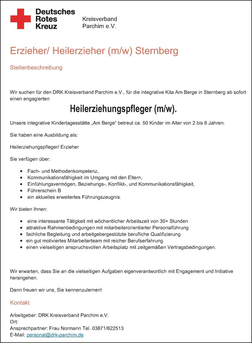 Erzieher/in - Heilpädagogik