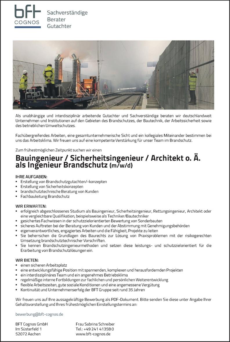 Brandschutzbeauftragte/r