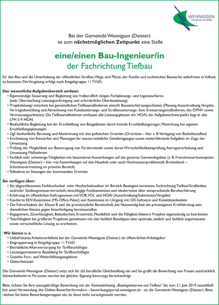 Techniker/in - Baudenkmalpflege/Altbauerneuerung (Tiefbau)
