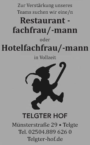 Hotelfachfrau / -mann
