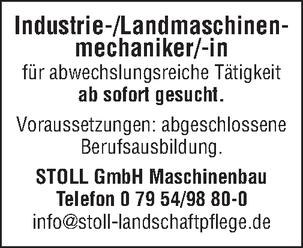 Industrie/Landmaschinenmechaniker