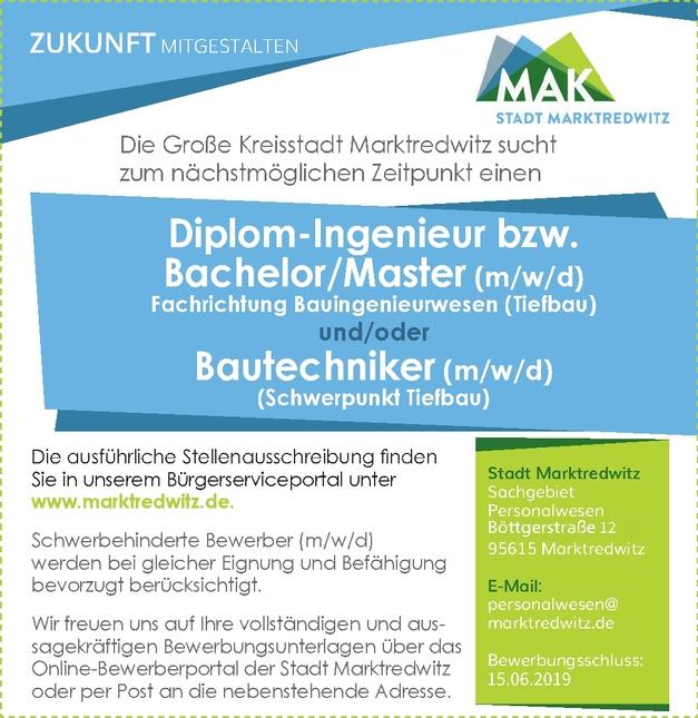Ingenieurassistent/in - Bautechnik