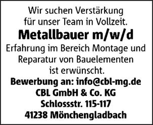 Metallbauer