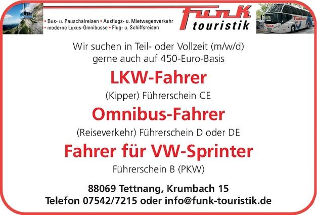 LKW-Fahrer (m/w/d)