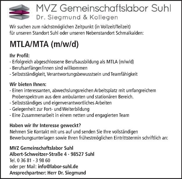 MTLA/MTA