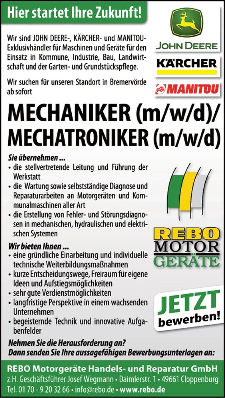 Mechatroniker/in