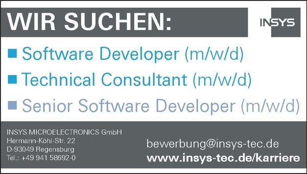 Software Developer (m/w/d)