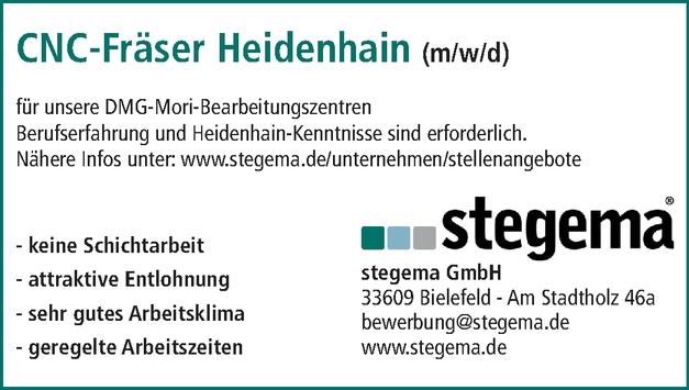 CNC-Fräser Heidenhain (m/w/d)