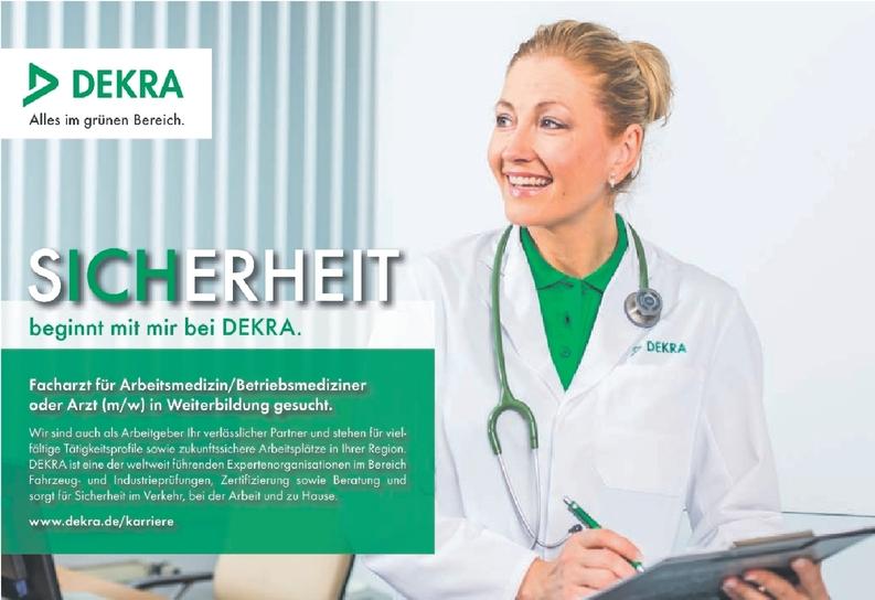 Facharzt für Arbeitsmedizin/ Betriebsmediziner oder Arzt
