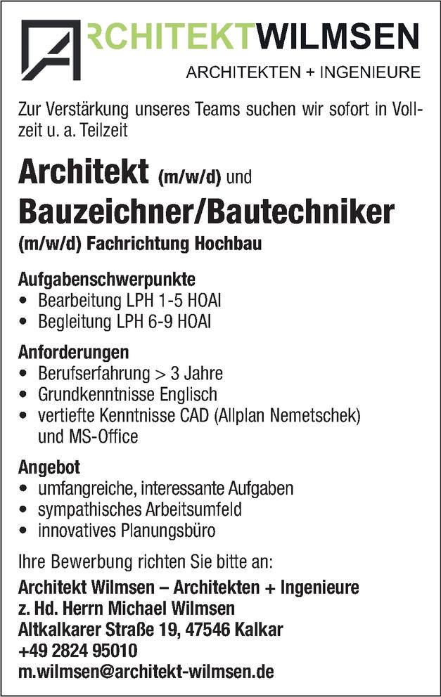 Bautechniker/in
