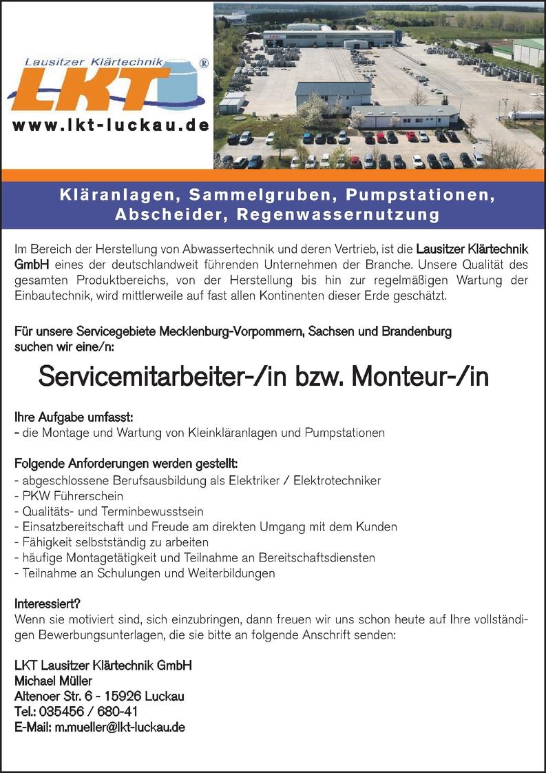 Abwassermeister/in