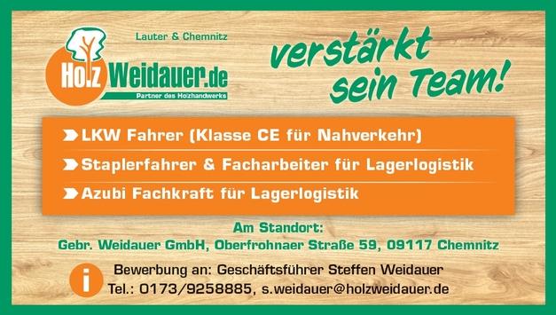 LKW - Fahrer Kl.CE für Nahverkehr m/w/d