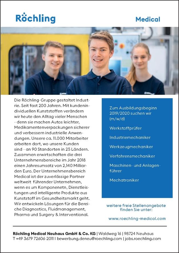 Ausbildung zum Industriemechaniker m/w/d