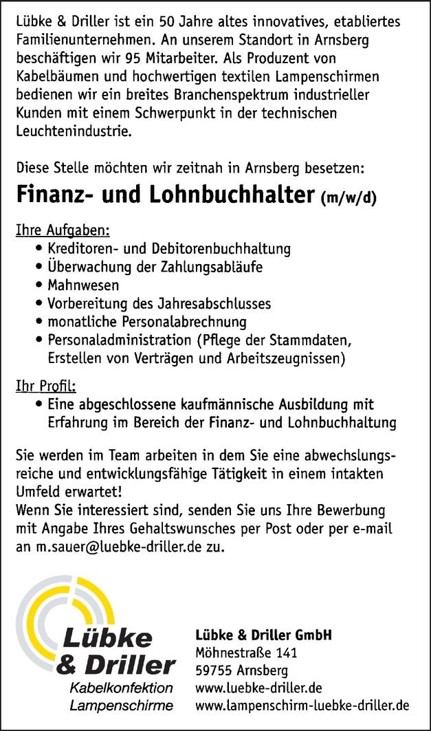 Finanzbuchhalter/in