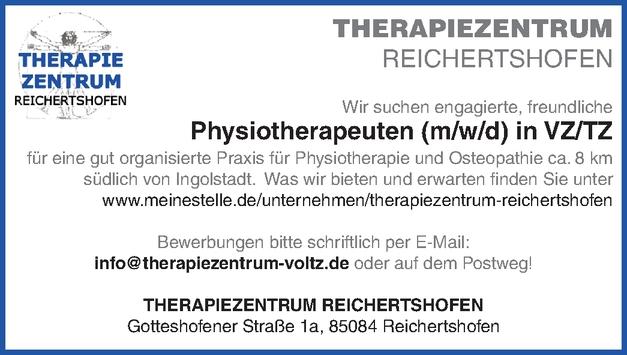 Physiotherapeuten (m/w/d)