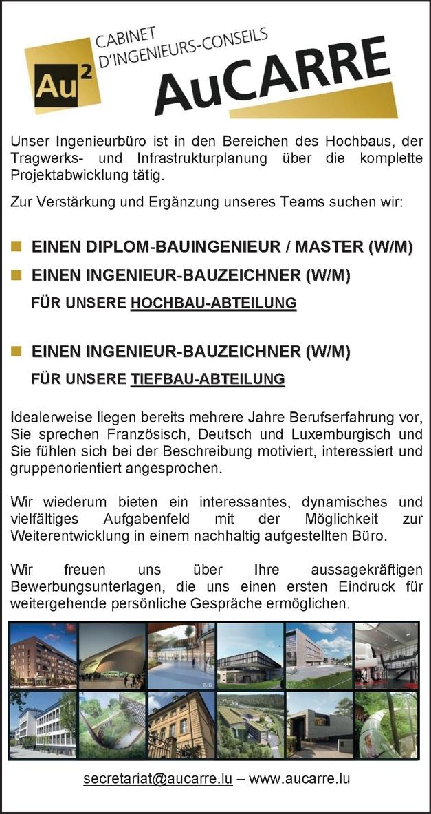 Ingenieur / Bauzeichner (m/w)