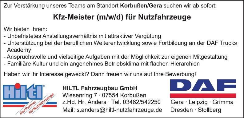 Kfz-Meister/in