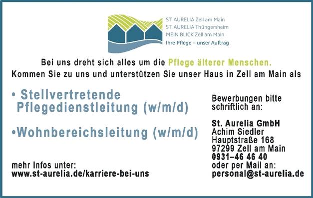 Stellvertretende Pflegedienstleitung (w/m/d)