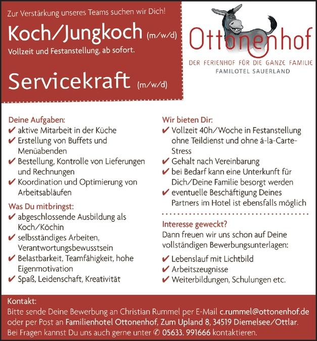 Servicefachkraft (Restaurant)