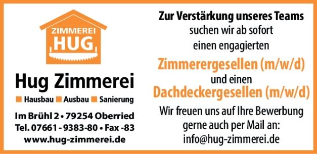 Zimmermann (m/w/d)