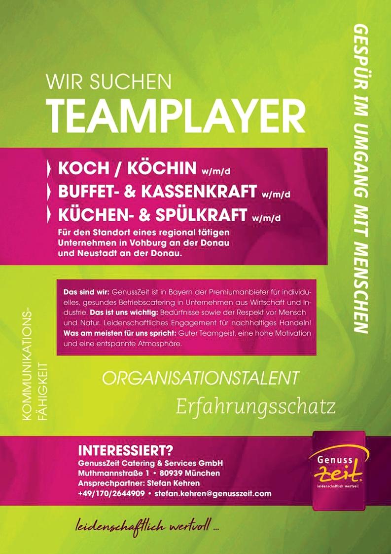 Koch / Köchin